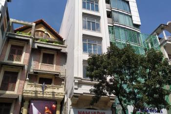 Cho thuê góc 2 MT Nguyễn Thị Minh Khai, Q3 DT 5.9x15m hầm 4 lầu + ST đường sung giá: 120tr/th