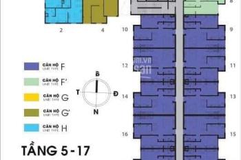 Căn hộ Sky 9, 2PN, 65.7m2, Liên Phường, Quận 9