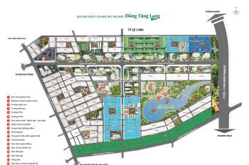 Chuyển nhượng 1 số lô 5x20m, 8x20m, 20x20m đa dạng diện tích giá tốt khu dân cư Đông Tăng Long Q9