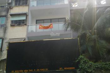 Cho thuê nhà MT 55 Bis Nguyễn Văn Thủ, P. Đa Kao, Quận 1 4,6x22m 5 lầu TM. Giá 120 triệu/tháng
