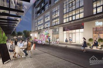 Cho thuê cả sàn thương mại 600m2 tầng 1 tòa nhà chung cư KĐT Ngoại Giao Đoàn giá 489.742đ/m2/th