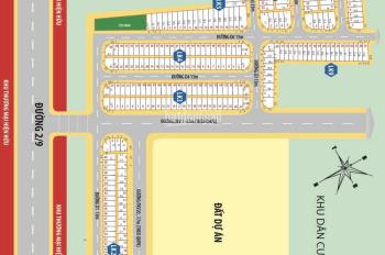 Cuối năm công ty Á Châu thanh lý 7 lô đất dự án newtown 6, giá 650tr/nền, SHR sang tên ngay