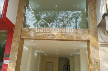 Cho thuê nhà mới xây MP Xã Đàn, 70m2 x 4 tầng, MT 4,5m, có thang máy, LH: 0946850055