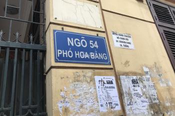 Cần bán nhà riêng ngõ 54 phố Hoa Bằng - Cầu Giấy - Hà Nội