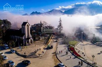 Bán 1ha đất xây khách sạn 4 - 5* view toàn bộ thị trấn Sapa và thung lũng Mường Hoa đẹp nhất Sapa