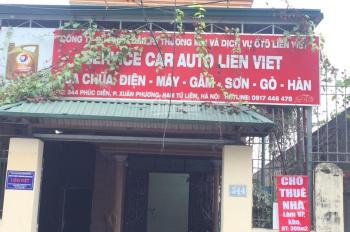 Cho thuê nhà làm văn phòng, kho tại số 344 Phúc Diễn, Xuân Phương, Nam Từ Liêm, Hà Nội