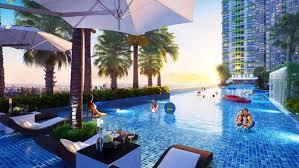 Cho thuê CHCC Lexington, Q2, 48.5m2, 1PN, nội thất cao cấp. Giá tốt nhất 11 triệu/th, view hồ bơi