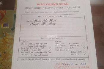 Chính chủ bán lô đất hẻm 79 Xô Viết Nghệ Tĩnh, phường Thắng Tam, TP VT