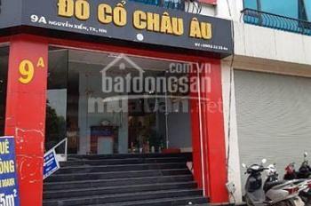 Chính chủ cần cho thuê gấp tầng 1 ngay mặt đường Nguyễn Xiển diện tích: 100m2, giá thuê 52tr/th