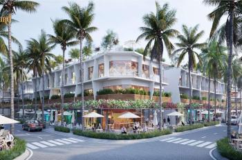 Nhà phố thương mại biển 2 mặt tiền, 1 trệt, 2 lầu, 1 sân thượng - hỗ trợ kinh doanh đến 600 triệu