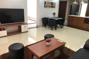 Cho thuê gấp căn hộ Hùng Vương Plaza, Q.5, 120m2, 3 phòng ngủ 3WC 22tr/tháng 0906378510
