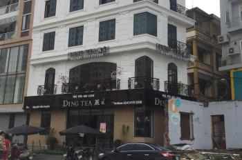 Cho thuê mặt sàn thương mại làm văn phòng tại KĐT Vĩnh Hoàng. DT 100m2, mặt tiền 10m, đủ điều hòa