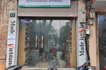 Cho thuê sàn tầng 1 mặt phố Lê Hồng Phong, giá 9.5tr/th. LH: 0981241605