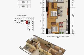 Chính chủ cần bán căn số 14, DT: 83,8m2 chung cư Gemek Tower, giá bán: 15,2 triệu/m2 LH: 0962251630