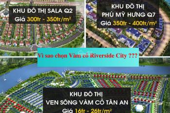 Đất nền TP. Tân An, nhà phố shophouse, biệt thự ven sông, LH: 0906.890.129