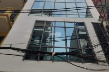 Cho thuê nhà ngõ 58, phố Nguyễn Khánh Toàn, diện tích 100m2, xây 80m2 x 5 tầng 1 tum có thang máy