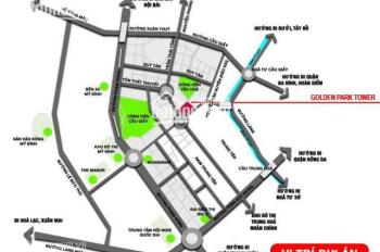Bán suất ngoại giao căn 95,6m2 tầng 18 tại Golden Park. Giá chỉ 3,7 tỷ full nội thất