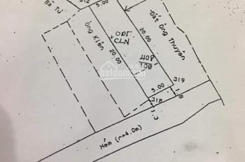 Cần tiền bán gấp lô đất, hẻm ô tô 127 Phạm Hồng Thái P7 TPVT vị trí đẹp, đất vuông vắn. 0937101279