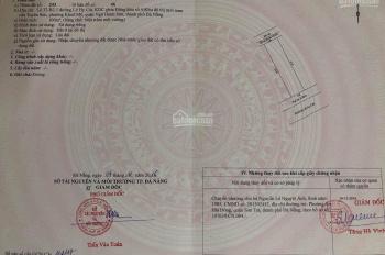 Cần bán lô đất sạch đẹp đường Lê Hy Cát khu Nam Việt Á. Giá 3,85 tỷ
