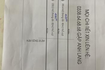 Bán đất hẻm xe hơi, đối diện công ty may Việt Long Hưng, chỉ 420 triệu. LH 0338 646 868
