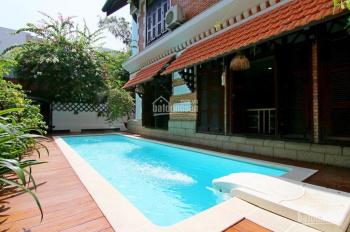 Cho thuê biệt thự sân vườn hồ bơi ngay trung tâm Thảo Điền phù hợp ở, làm văn phòng giá 116 triệu