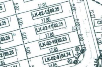 Cần bán lô đất đấu giá khu X1 Yên Bài, Tự Lập, Mê Linh giá 560 triệu