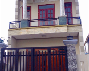Nhà huyện Bình Chánh, 80m2, gần QL1A