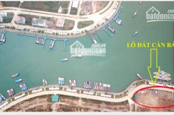 Bán lô đất nền chính chủ - không bắt xây - mặt cảng mới Tuần Châu đã có sổ đỏ