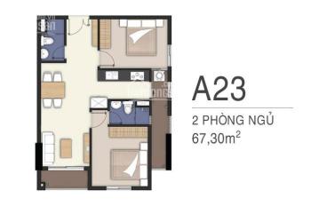 Chính chủ bán gấp căn A23 tầng 19 căn hộ Lavita Charm view hồ bơi