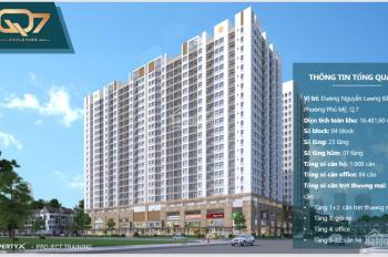 Sở hữu căn hộ 3PN TT Quận 7 chỉ 1 tỷ ban đầu, góp hàng tháng chỉ 65tr. Cuối 2020 bàn giao
