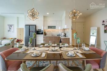Cho thuê căn hộ Vinhomes Ba Son 158m2 có 4PN nội thất Châu Âu view sông, LH 0901692239
