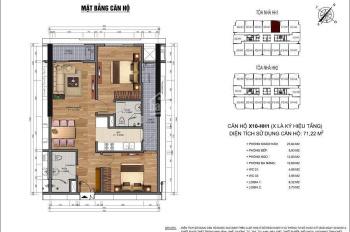 Chính chủ bán căn hộ 2510 HH1 dự án nhà ở 90 Nguyễn Tuân