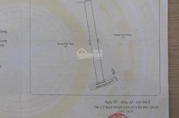 Bán 20000m2 có thổ cư đất mặt tiền đường đi Quốc Tế - An Thới - Phú Quốc, đất sạch, sỏ đỏ
