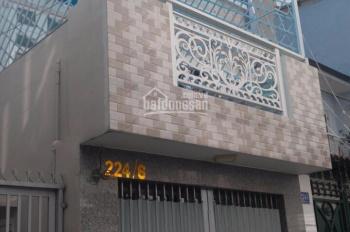 Cho thuê nhà HXH đường Lý Thường Kiệt, P14, Quận 10, cách MT vài căn, nhà trệt 1 lầu 18tr/tháng