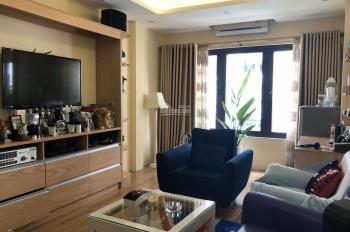Cho thuê nhà mới xây MP Nguyễn Khắc Hiếu view hồ Trúc Bạch 66m2 x 6 tầng, MT 4m, thang máy