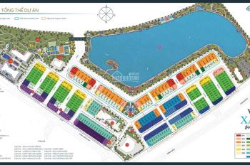 Bán gấp biệt thự mặt hồ 8ha Vinhomes Green Bay 306,8m2, giá 80 tỷ