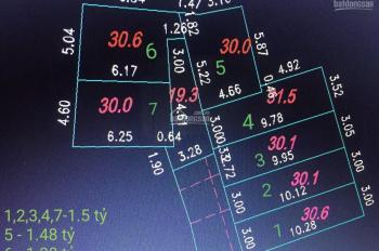 CC Cần bán lô đất giá đầu tư tại Hà Trì, Hà Cầu, Hà Đông, giá chỉ từ 1,38 tỷ, LH: 0979788218