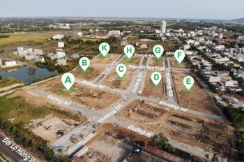 Khu đô thị đất nền sổ đỏ Baria Residence 4 mặt tiền đường Hùng Vương 42m chỉ 1,6 tỷ. LH 0938810195