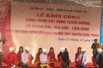 63m2 sẵn sổ đỏ Đại Áng - Thanh Trì, đất bằng phẳng đẹp, ngay trung tâm làng