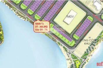 Chính chủ bán gấp biệt thự đơn lập góc Sao Biển SB09 - 70 view biển hồ điều hòa Vinhomes Ocean Park