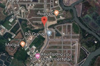 Cần tiền bán lô đất 2 mặt tiền Trường Lưu, Quận 9, HCM