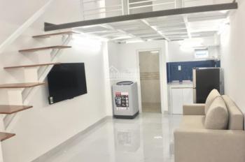Phòng gác lửng, ban công, thang máy, đầy đủ nội thất gần Big C, KCX Tân Thuận, Phú Mỹ Hưng, quận 7
