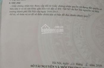 Chính chủ bán 57m2, ô tô đỗ cửa, đất Đại Áng - Thanh Trì - HN, sẵn sổ, LH: 0862.85.95.98