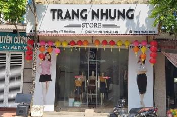Bán nhà mặt phố trung tâm thị trấn Ninh Giang