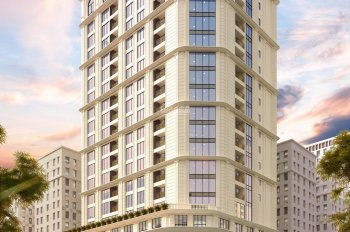 Căn hộ HDI Tower - 55 Lê Đại Hành, 7,8 tỷ/căn góc 2PN + 1 đa năng, KM 100 triệu, hỗ trợ vay vốn