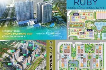 Tư vấn quỹ căn đẹp-dự án Vinhomes Smart City phân khu Sapphire 3 - 4 và Ruby: Mr. Lan: 098 663 0034