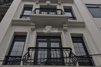Cho thuê nhà mp Nguyễn Ngọc Vũ, DT 80M2*6 tầng, Mặt tiền 5m, thông sàn, giá 75tr/tháng