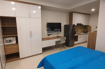 Cho thuê căn hộ Officetel 1PN Saigon Royal Quận 4 full NT. Giá tốt 15tr/th LH 0903979910