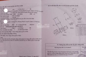 Chính chủ gửi bán nhà HXH đường 297, Phước Long B Quận 9, giá cực tốt, nhà 1 trệt 2 lầu