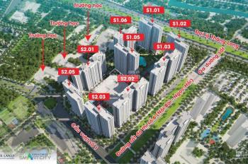 Bán lại shophouse chân đế chung cư cạnh cửa sảnh căn hộ S2-03-12 Vinhomes Smart City, chênh 2 tỷ